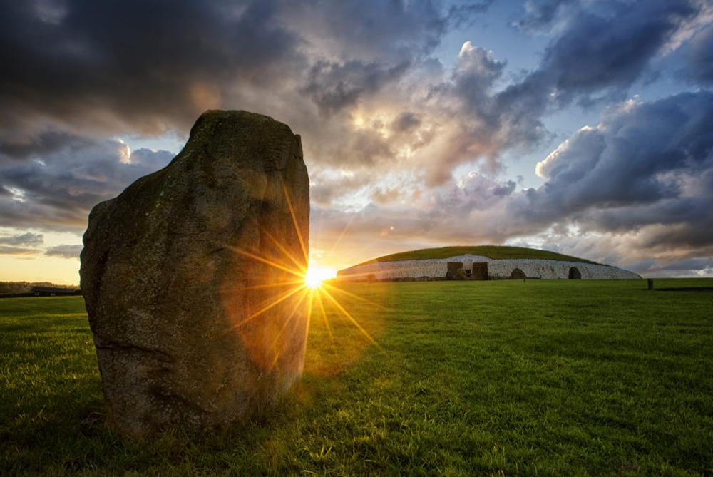 Newgrange, over 5000 years old World Heritage site, Co Meath